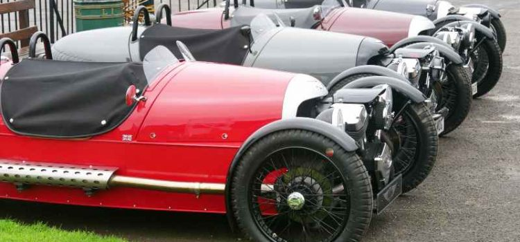 Morgans at Brooklands