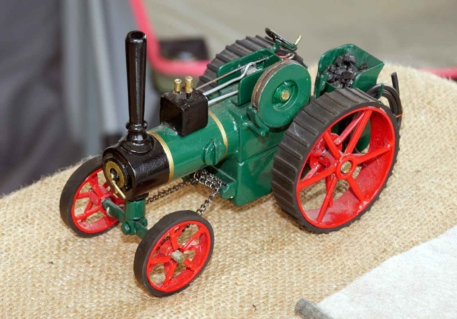 Another stunning scratch built non operating steam tractor