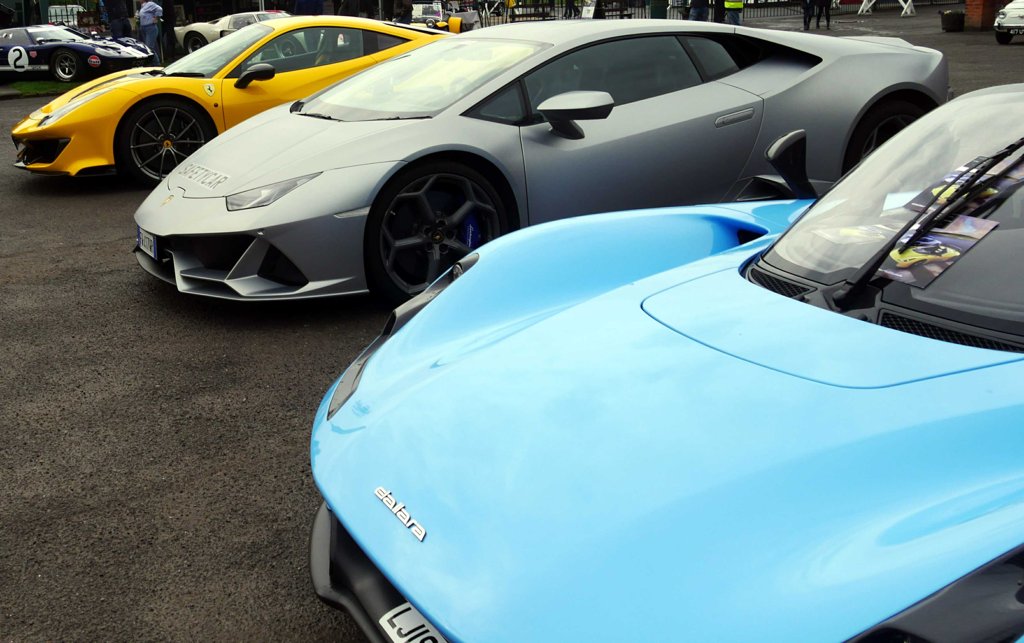 A Ferrari, Lamborghini and Dallara